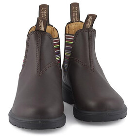 Blundstone 1413 Botas de Cuero Niños, brown/stripes